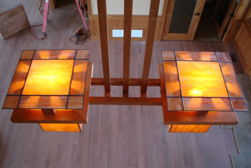 FLW Light Fixture
