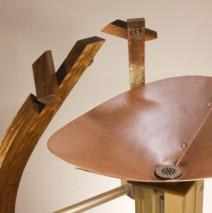 Copper Sink: detail