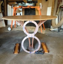 V-8 Coffee table – a new work in progress